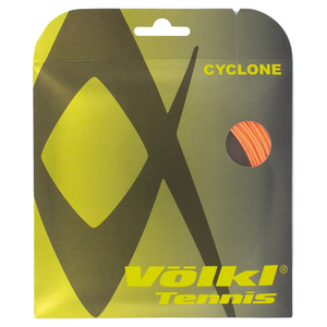 VOLKL CYCLONE 18G TENNIS STRING FLUO ORANGE