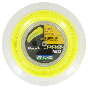 YONEX POLY TOUR PRO TENNIS STRING REEL YELLOW