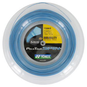 Poly Tour Spin 125/16L Tennis String Reel Blue