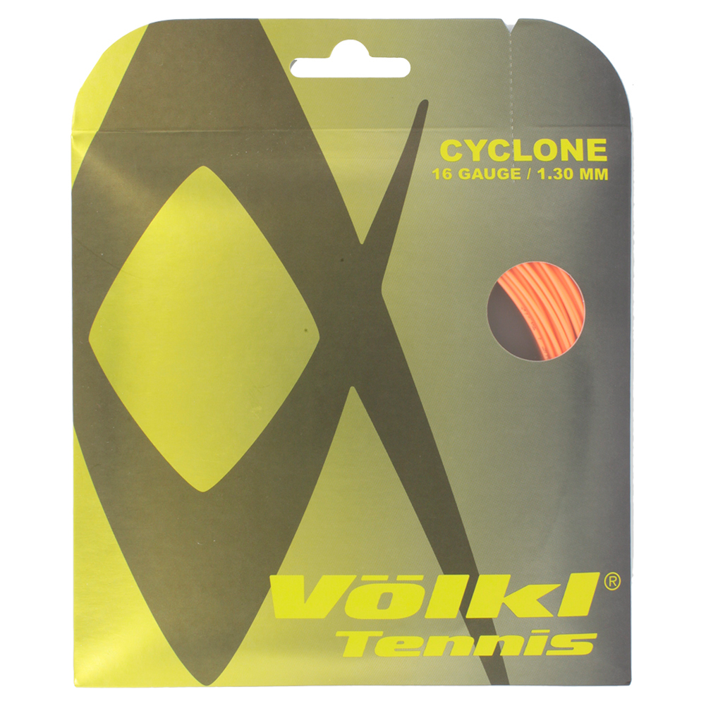 Cyclone 16g Tennis String Fluo Orange