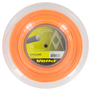 Cyclone 17G Tennis String Reel Fluo Orange