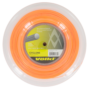 Cyclone 18G Tennis String Reel Fluo Orange