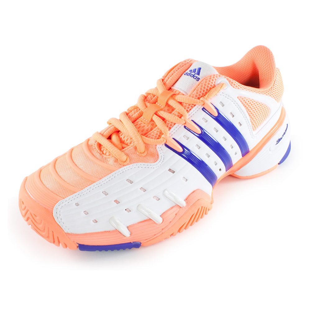 Women's Barricade V Classic Tennis Shoes Light Flash Orange And Night Flash