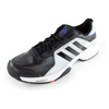 ADIDAS Men`s Barricade Court Tennis Shoes Black and Silver Metallic