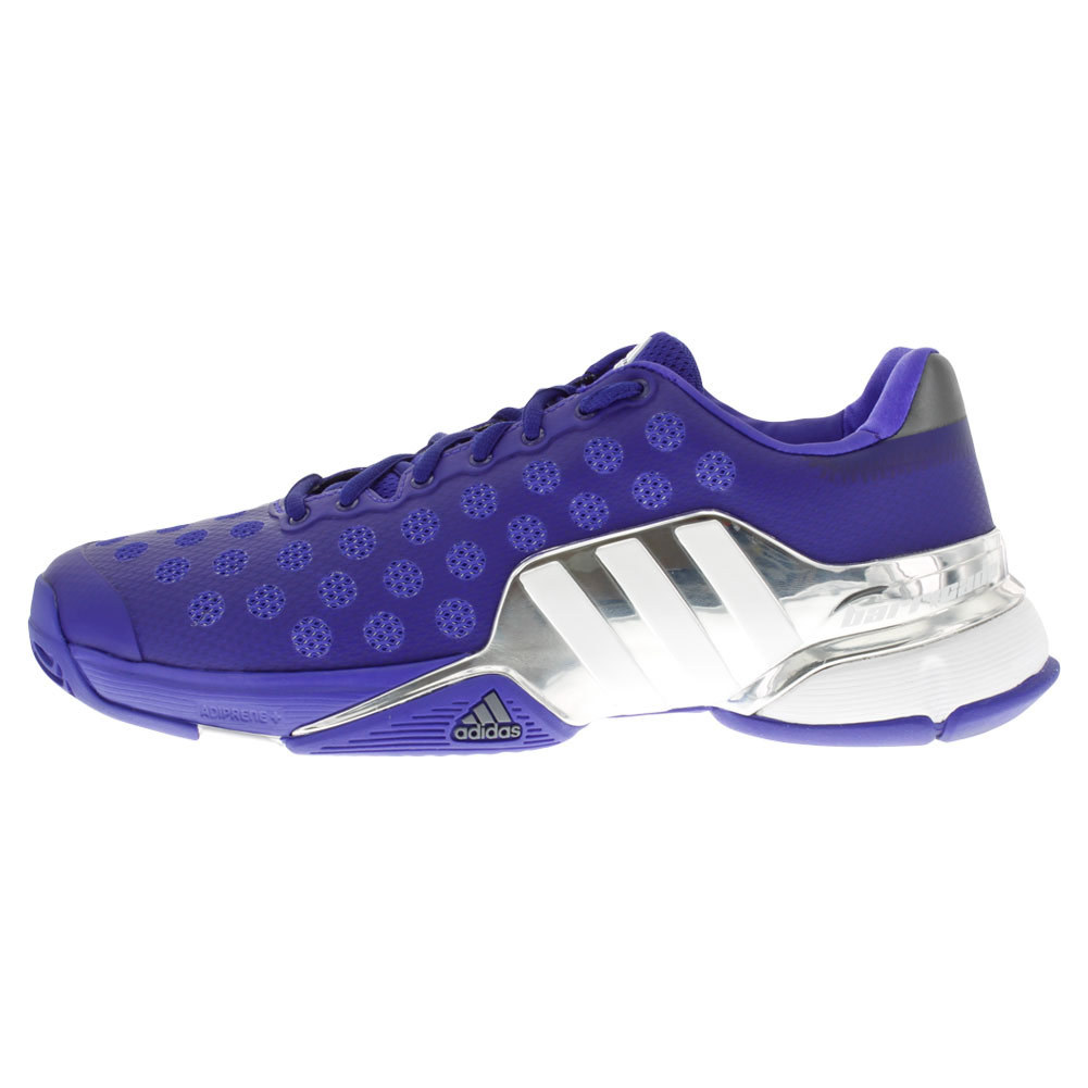 Men's Barricade 2015 Tennis Shoes Night Flash And White