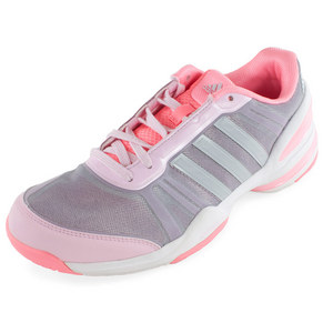 adidas WOMENS CC RALLY COMP TENNIS SHOES PK/WH