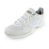 ADIDAS Women`s Stella McCartney Barricade 2015 Tennis Shoes White and Amber Yellow