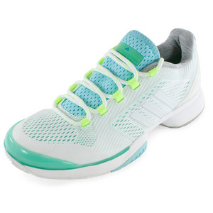 Women`s Stella McCartney Barricade 2015 Tennis Shoes Minty Green and White Vapor