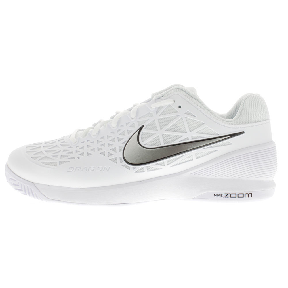 Buy the Nike Men's Zoom Cage 2 Tennis Shoe White
