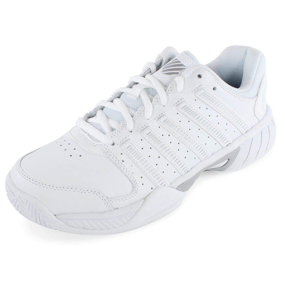 s express leather tennis shoes white and silver ebay