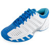 K-SWISS Women`s BigShot Light 2.5 Tennis Shoes White and Blue Aster