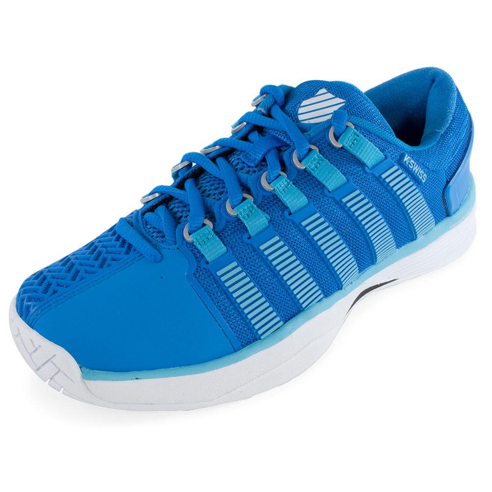k swiss s hypercourt tennis shoes blue aster and