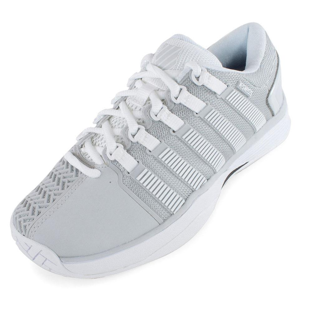 Women's Hypercourt Tennis Shoes Glacier Gray And White
