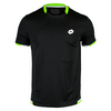 LOTTO Men`s LOB Tennis T Shirt Black