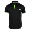 LOTTO Men`s LOB Tennis Polo Black