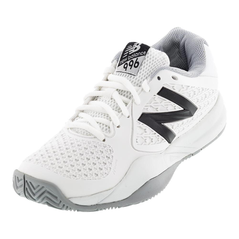 Women's 996v2 B Width Tennis Shoes White
