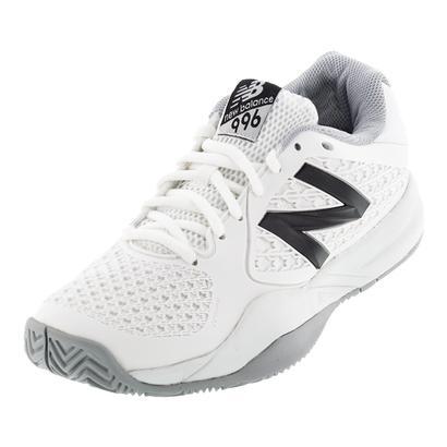Women`s 996v2 B Width Tennis Shoes White