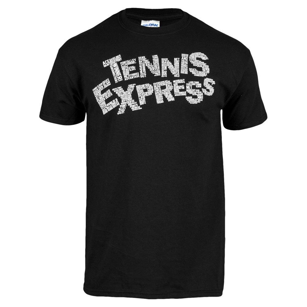 Word Tennis Express Unisex Tee In Black