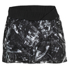 ADIDAS Women`s Response Trend Tennis Skort Black and White