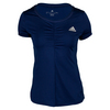 ADIDAS Women`s All Premium Tennis Tee Night Sky