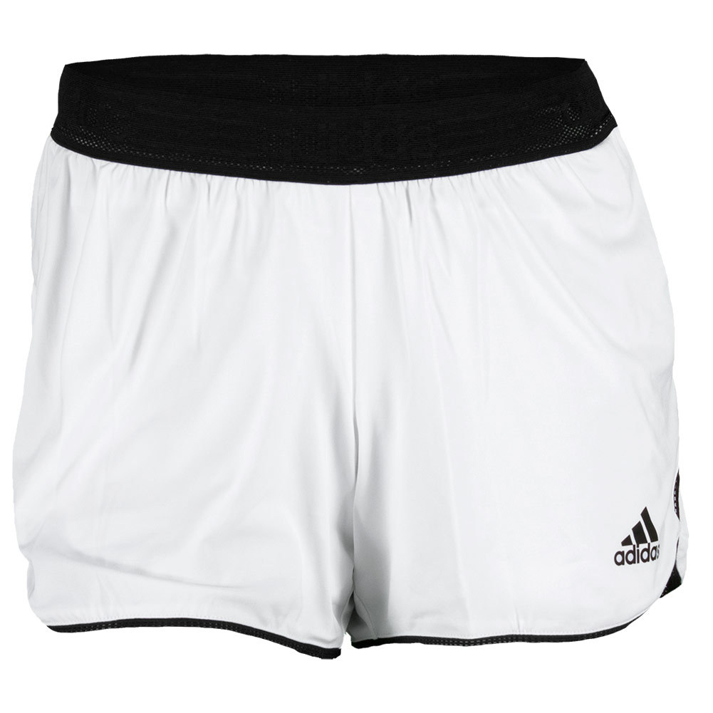 adidas Women`s Tennis Sequencials Core Short White