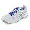 ASICS Juniors` Gel-Game 5 Tennis Shoes White and Silver