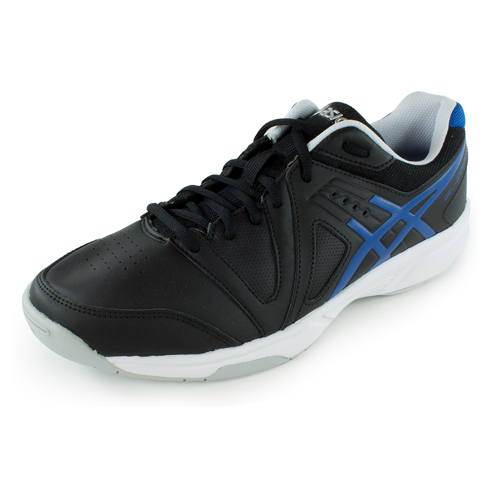Men's Gel- Gamepoint Tennis Shoes Black And Jet Blue
