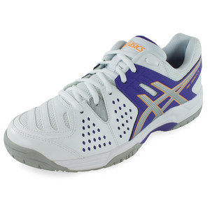 Women`s Gel-Dedicate 4 Tennis Shoes Lavender and Silver