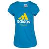 ADIDAS Women`s Tennis Adi Tee Solar Blue