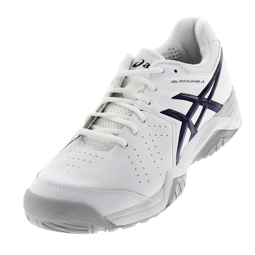 Men's Gel- Encourage Le Tennis Shoes White And Navy