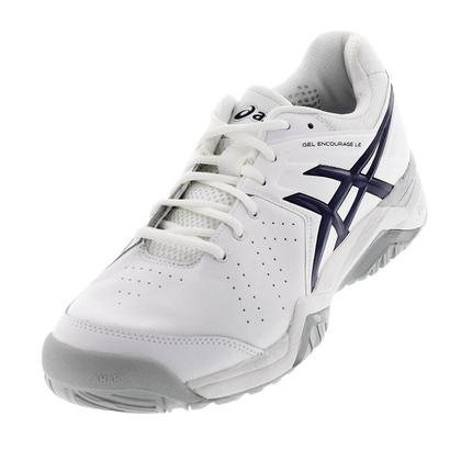 Men`s Gel-Encourage LE Tennis Shoes White and Navy