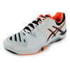 ASICS Men`s Gel-Challenger 10 Tennis Shoes White and Onyx