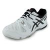 ASICS Men`s Gel-Game 5 Tennis Shoes White and Onyx