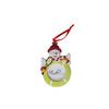 CLARKE Snowman Picture Frame Ornament