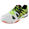 ASICS Men`s Gel-Game 5 Tennis Shoes Onyx and Flash Yellow