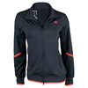 Women`s Solana Knit Tennis Jacket Coal by WILSON