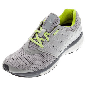 Women`s Supernova Glide 7 Running Shoes Light Gray Heather and Semi Solar Yellow