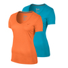 NIKE Women`s V-Neck Legend Short Sleeve Tee 2.0