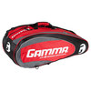 RZR 10 Pack Tennis Racquet Bag Red and Black by GAMMA
