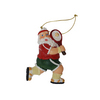 CLARKE SANTA TENNIS ORNAMENT