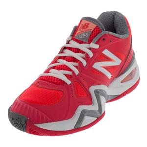 Women`s 1296v1 B Width Tennis Shoes Pink