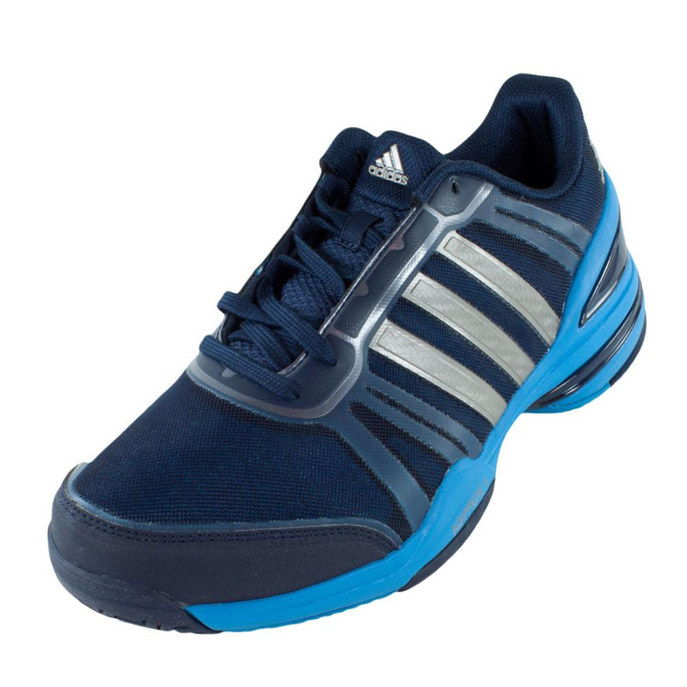 f3504f06a1f1 ADIDAS ADIDAS Men s Cc Rally Comp Tennis Shoes Collegiate Navy And Solar  Blue