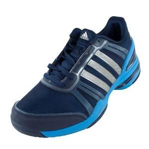 Men`s CC Rally Comp Tennis Shoes Collegiate Navy and Solar Blue
