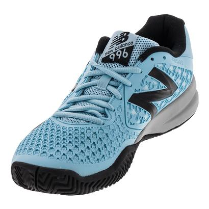 Men`s 996v2 D Width Tennis Shoes Blue and Black