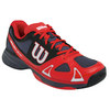 WILSON Men`s Rush Evo Tennis Shoes Coal and Red