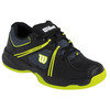 WILSON Juniors` Nvision Envy Tennis Shoes Coal and Black