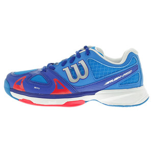 Juniors` Rush Tennis Shoes Neptune Blue and Blue Iris
