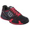 WILSON Women`s Rush Pro 2.0 Tennis Shoes Coal and Black