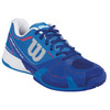 WILSON Men`s Rush Pro 2.0 Tennis Shoes Neptune Blue and Blue Iris