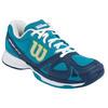 WILSON Women`s Rush Evo Tennis Shoes Light Ultramarine and Pacific Teal